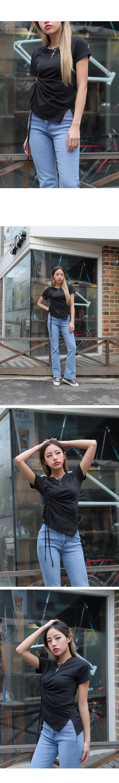 크로스 체인 목걸이 (2color) - 써리미, 13,000원, 패션, 패션목걸이