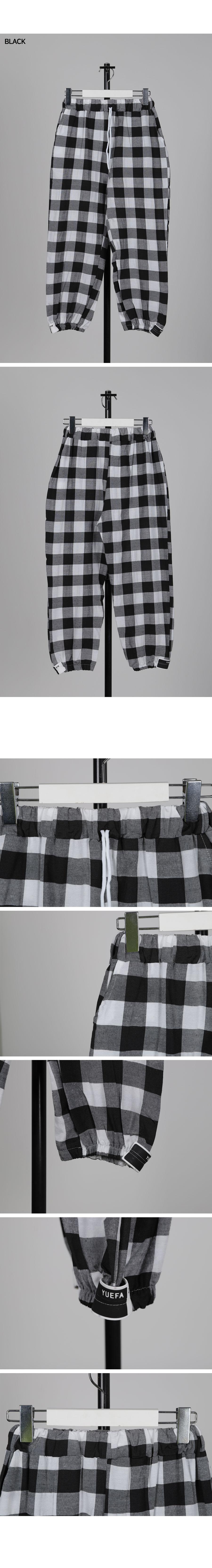 파자마 체크 조거팬츠 - 써리미, 9,000원, 스트릿패션, 긴바지