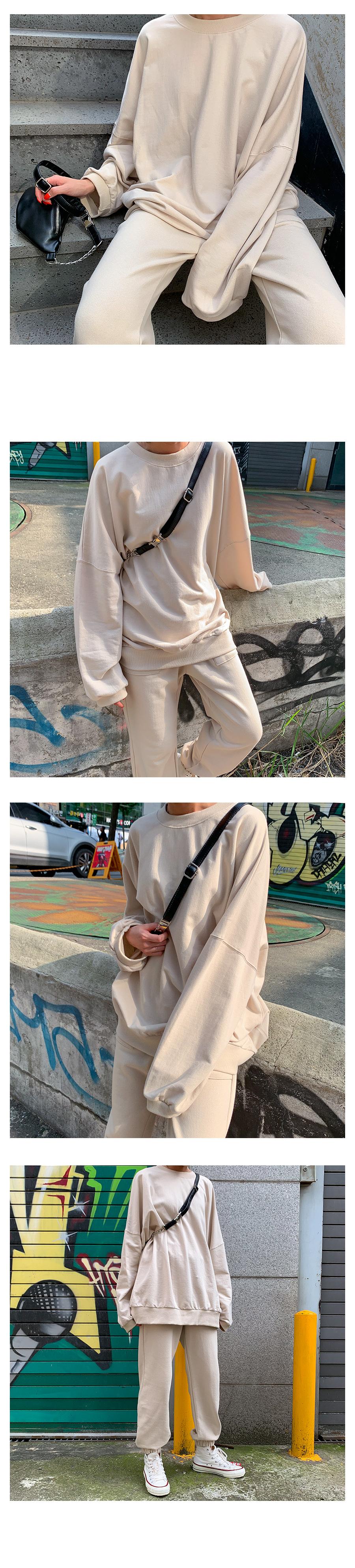 4계절 쭈리 맨투맨 (7color) - 써리미, 18,000원, 상의, 긴팔티셔츠