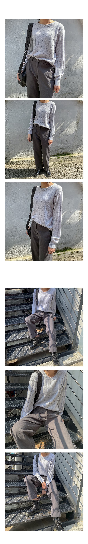 캐시미어 골지 니트 (6color) - 써리미, 24,000원, 상의, 니트/스웨터