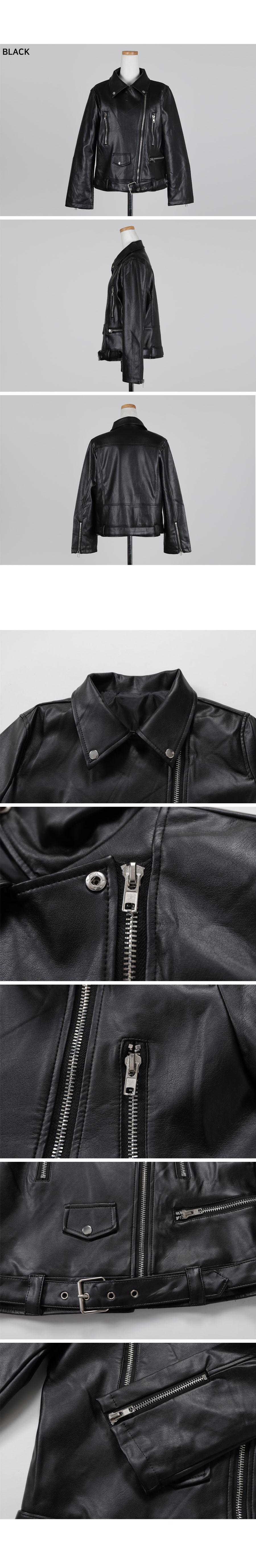 마크 슬림 레더 자켓 - 써리미, 46,000원, 아우터, 자켓