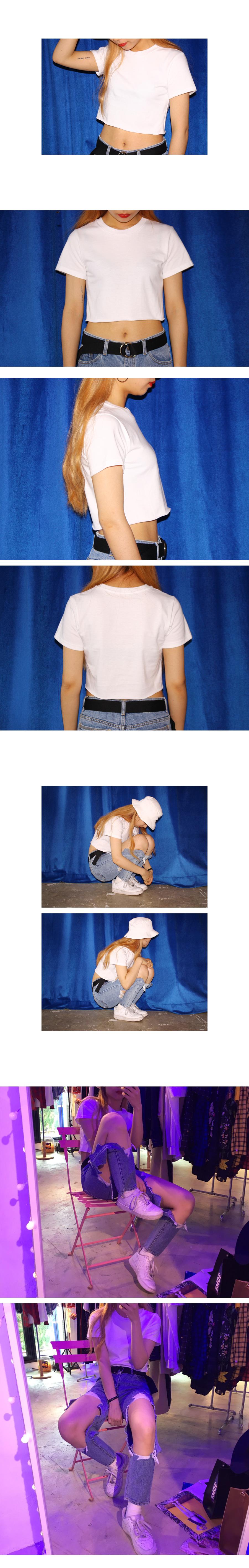 컷팅 크롭 티셔츠 (3colors)16,000원-써리미패션의류, 여성상의, 반팔티셔츠, 무지바보사랑컷팅 크롭 티셔츠 (3colors)16,000원-써리미패션의류, 여성상의, 반팔티셔츠, 무지바보사랑